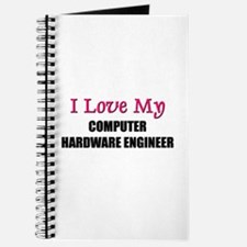 I Love My COMPUTER HARDWARE ENGINEER Journal