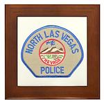 North Las Vegas Police Framed Tile