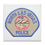 North Las Vegas Police Tile Coaster