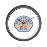 North Las Vegas Police Wall Clock