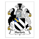Harford Family Crest Small Poster