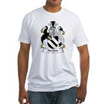 Harford Family Crest Fitted T-Shirt