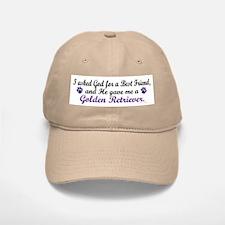 God Gave Me A Golden Retriever Baseball Baseball Cap