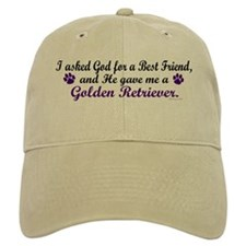God Gave Me A Golden Retriever Baseball Cap
