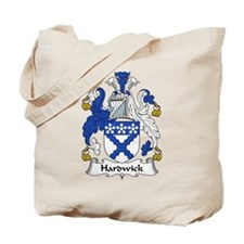 Hardwick Family Crest Tote Bag