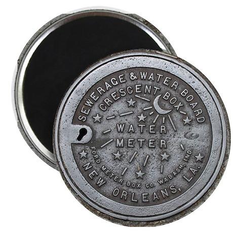 Water Meter Lid Magnet