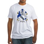 Harding Family Crest Fitted T-Shirt