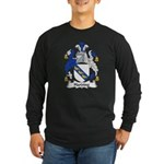 Harding Family Crest Long Sleeve Dark T-Shirt