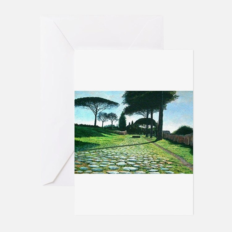 Ostia, Romes Ancient Port Greeting Cards