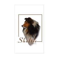 Sheltie-1 Rectangle Decal