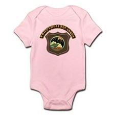 WWII PT Boat Squadron - With Text Infant Bodysuit