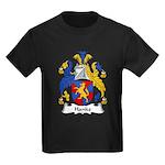 Hanke Family Crest Kids Dark T-Shirt