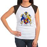 Hanke Family Crest Women's Cap Sleeve T-Shirt