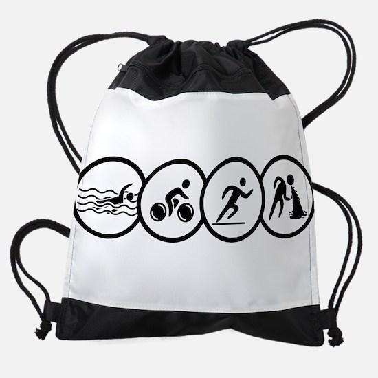 triathlon Drawstring Bag