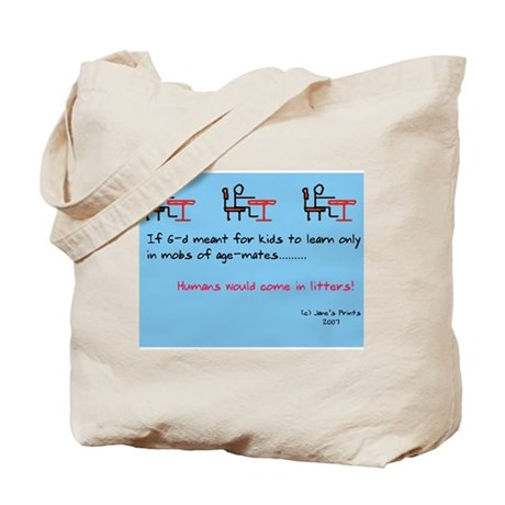 Human Litters Tote Bag
