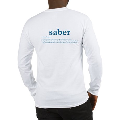 Saber: Long Sleeve T-Shirt
