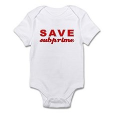 Save Subprime Infant Bodysuit