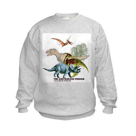 The Cretaceous Period Kids Sweatshirt