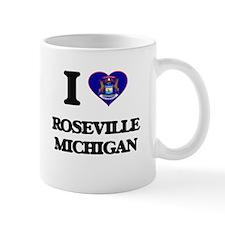 I love Roseville Michigan Mugs