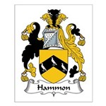Hammon Family Crest Small Poster