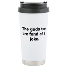 Cute Is god Travel Mug