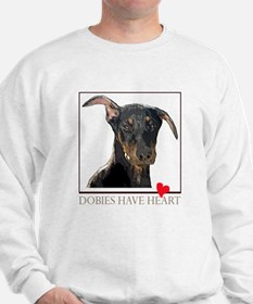 Dobies Have Heart Sweatshirt