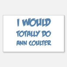 Do Ann Coulter Rectangle Decal