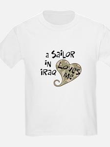 Iraq Navy sailor heart T-Shirt