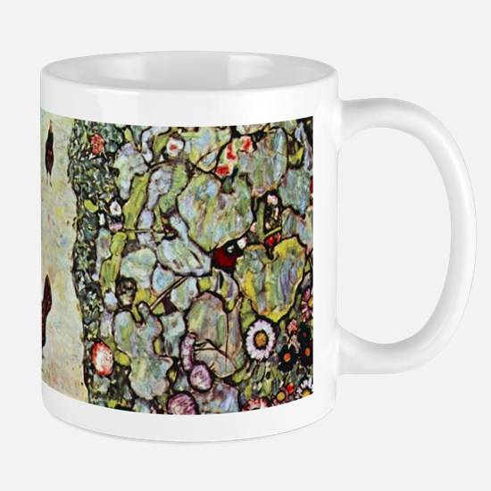 Garden Path with Chickens by Klimt Mugs