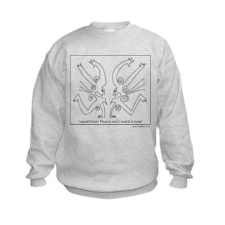 Inner Peace Kids Sweatshirt