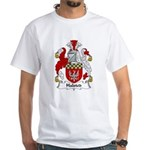 Halsted Family Crest White T-Shirt