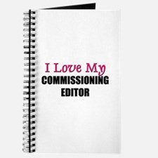 I Love My COMMISSIONING EDITOR Journal