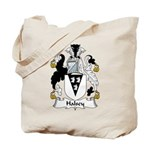 Halsey Family Crest Tote Bag