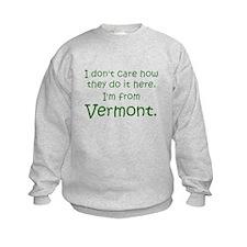 From Vermont Sweatshirt