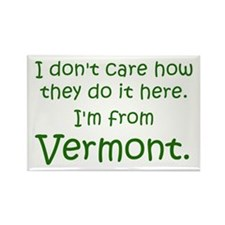From Vermont Rectangle Magnet