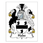 Halse Family Crest Small Poster