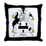 Halse Family Crest Throw Pillow