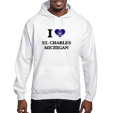 I love St. Charles Michigan Hoodie