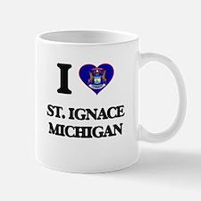 I love St. Ignace Michigan Mugs