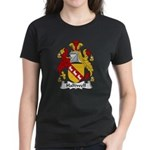 Halliwell Family Crest Women's Dark T-Shirt