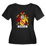 Halliwell Family Crest Women's Plus Size Scoop Nec