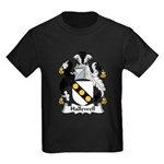 Hallewell Family Crest Kids Dark T-Shirt