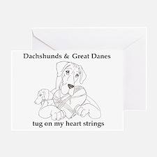 NGDnDox Tug Greeting Card