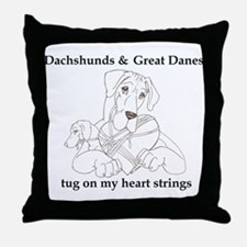 NGDnDox Tug Throw Pillow