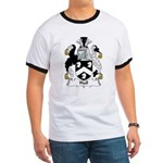 Hall Family Crest Ringer T