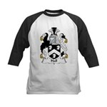 Hall Family Crest  Kids Baseball Jersey
