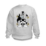 Hall Family Crest Kids Sweatshirt