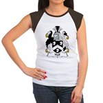 Hall Family Crest  Women's Cap Sleeve T-Shirt