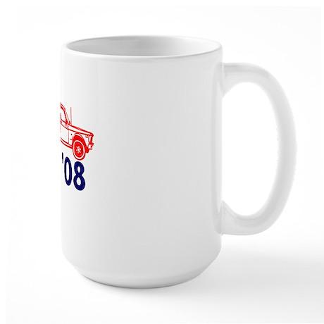 Red Truck Large Mug