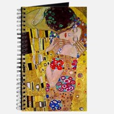 The Kiss detail, Gustav Klimt, Vintage Art Journal